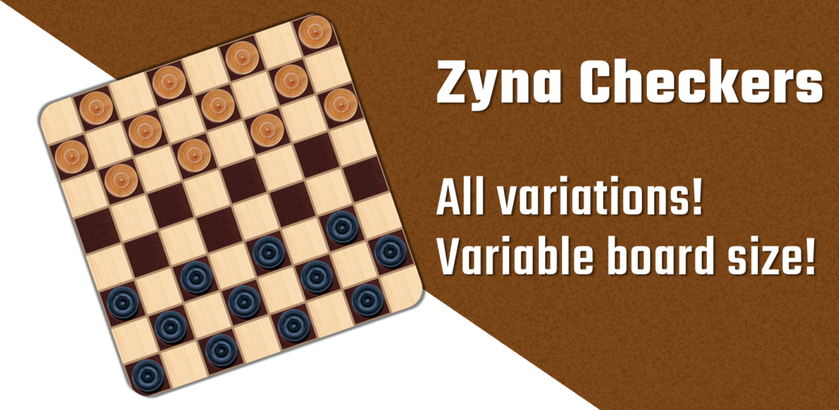 Feature graphic of zyna checkers